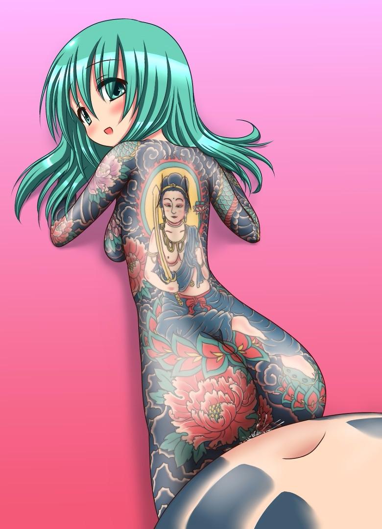 full tattoo body female nude Ursa (dc comics)