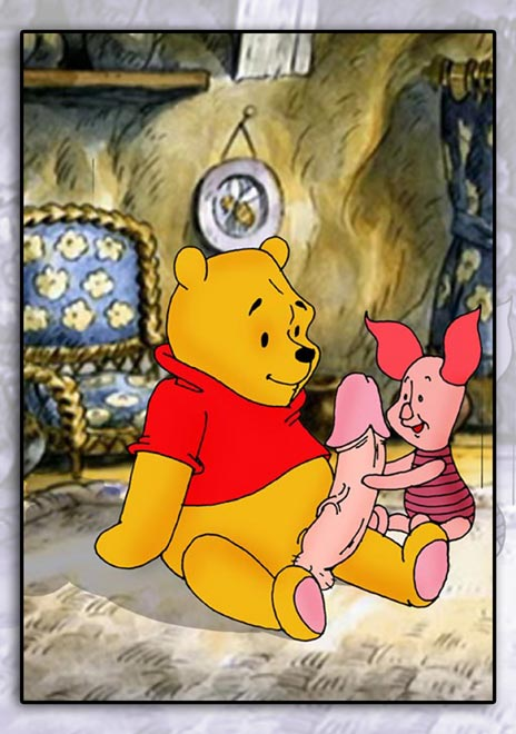 pooh nasty the winnie jack Scooby doo ears and tail