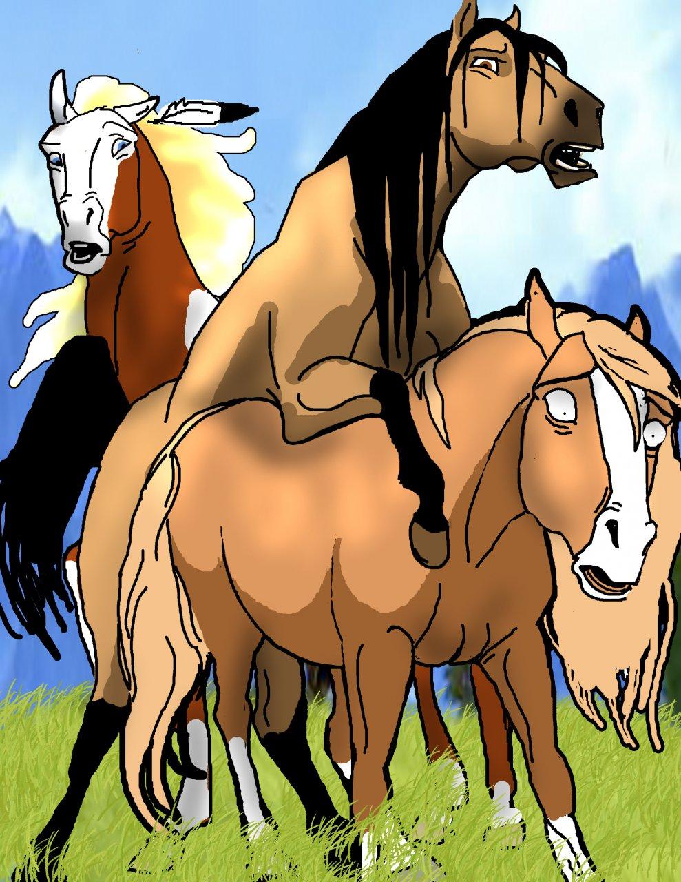 rain of stallion cimarron spirit the Magi the labyrinth of magic ugo