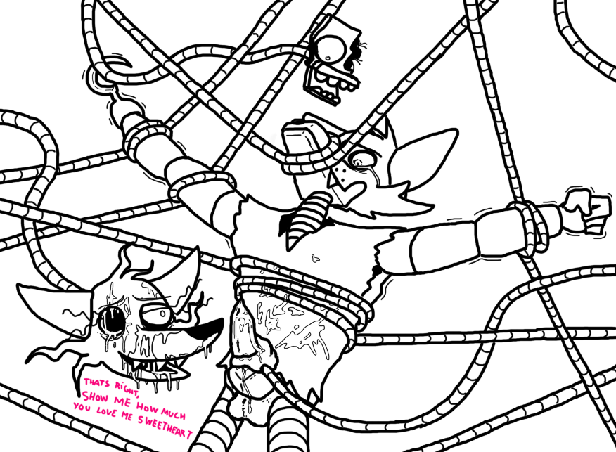 mangle fanfiction foxy fnaf and Vr chat avatar cat ears