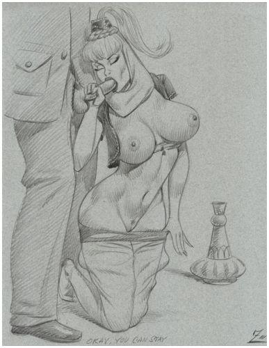 boobies i dream comic of Hunter x hunter aunt mito