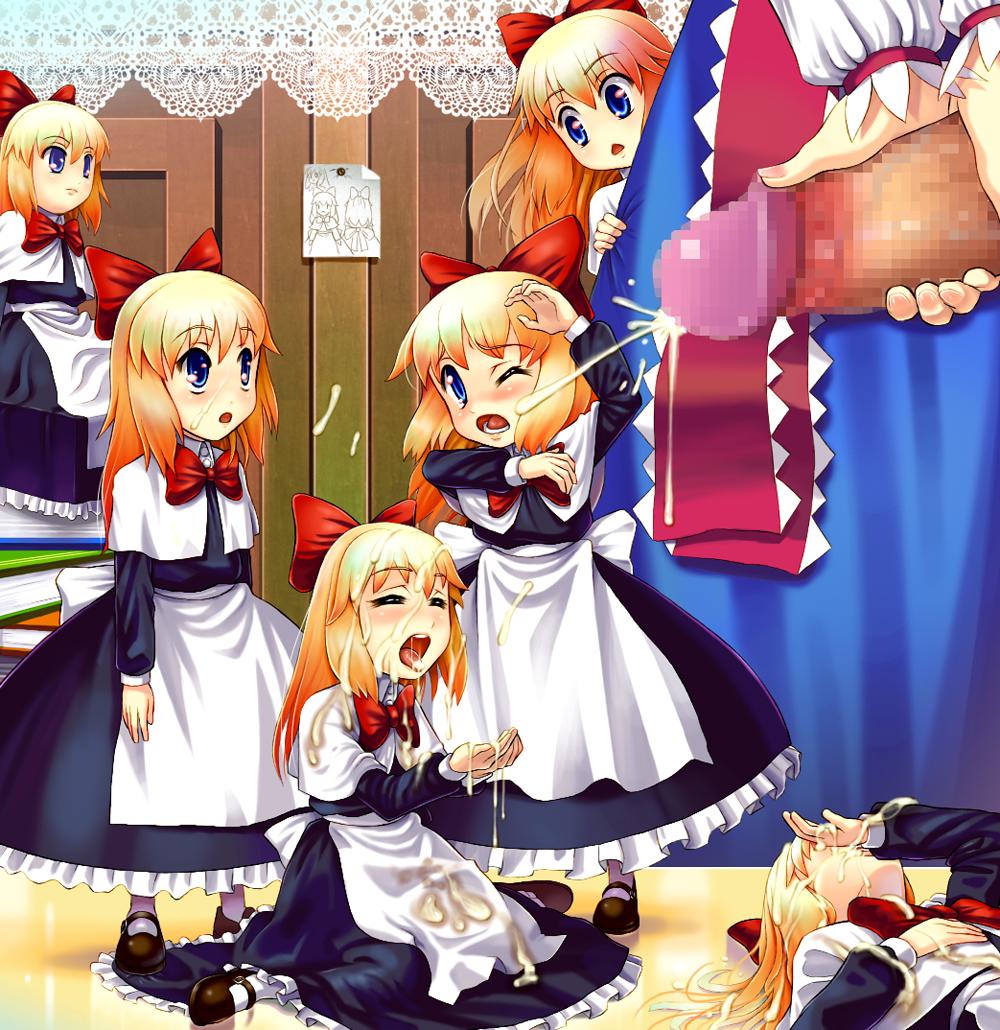 kizutsukana wa machine-doll Ahsoka tano and barriss offee kiss