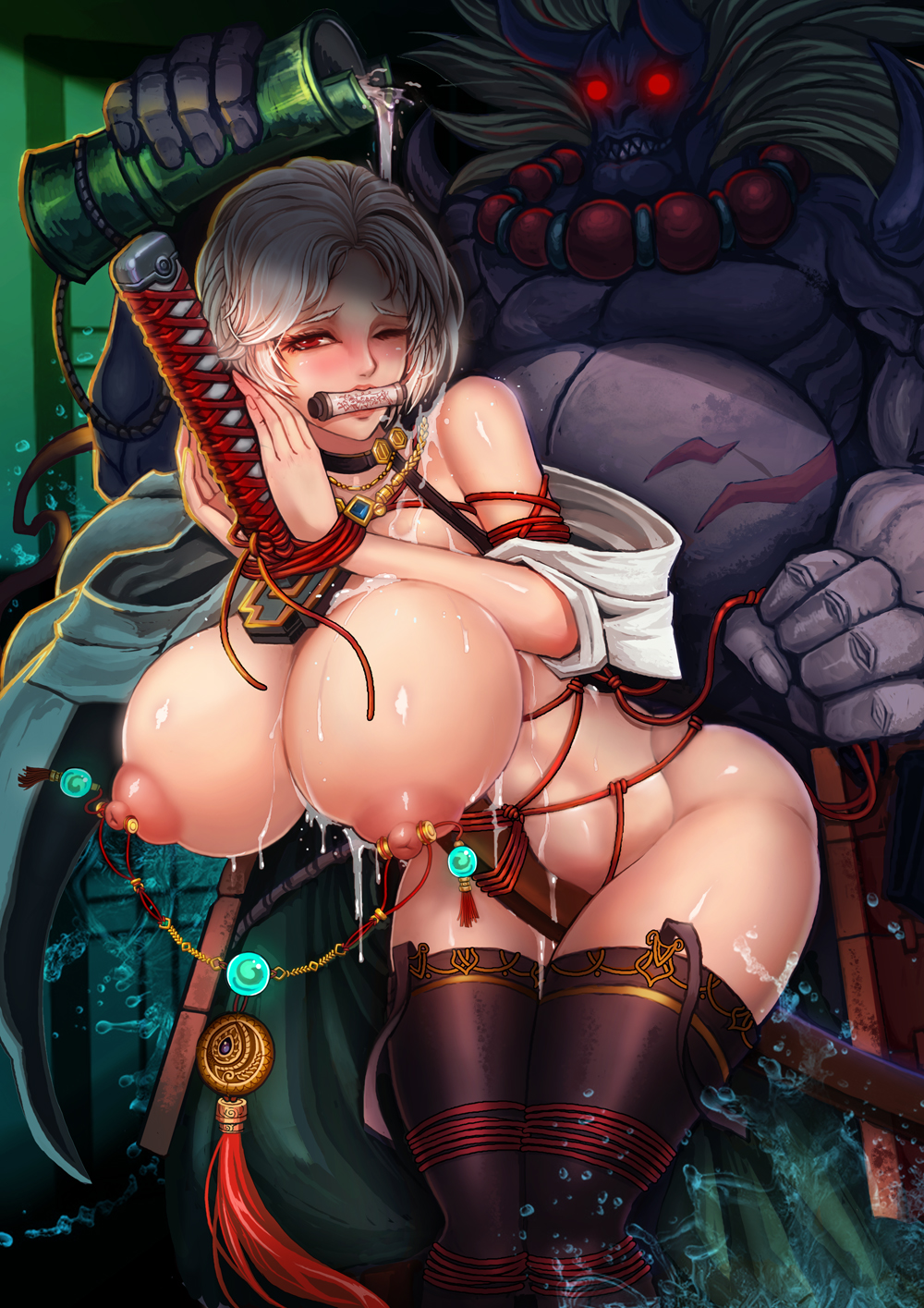 and zick allergy elena monster Taimanin asagi ~kessen arena~