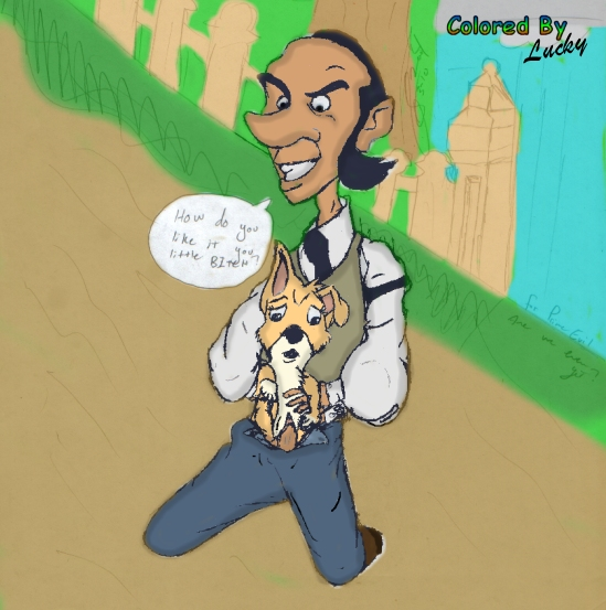 rummy ed boondocks and the Escape from planet earth lena