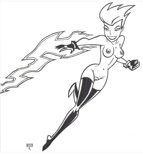 animated the maxima superman series My hero academia cow lady