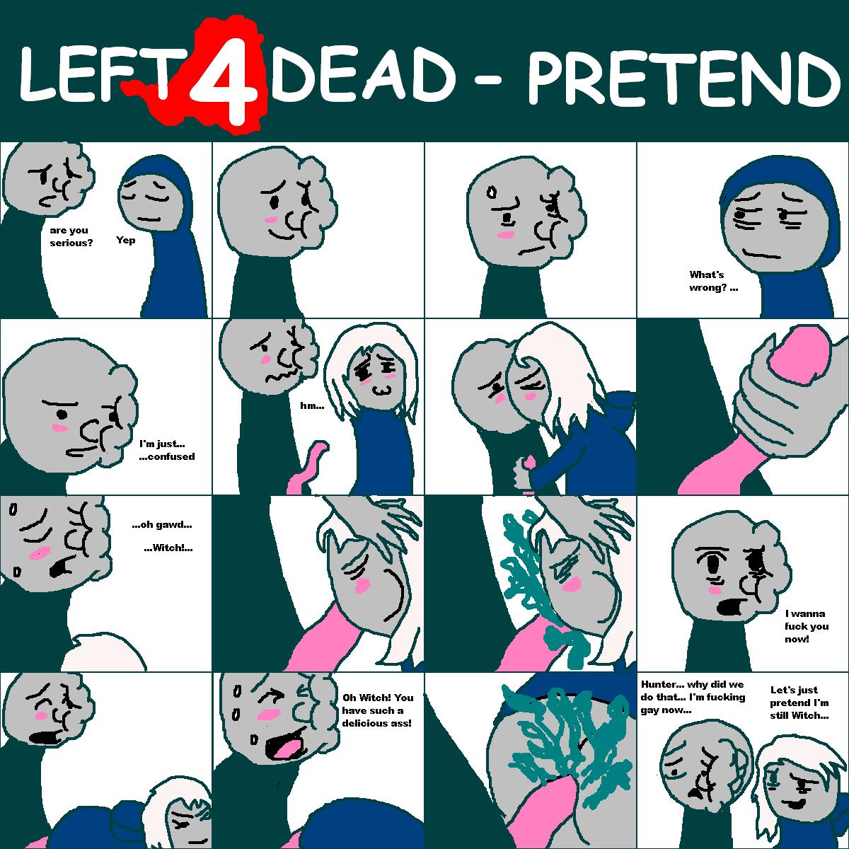 dead 4 spitter left 2 Yu-gi-oh tea hentai