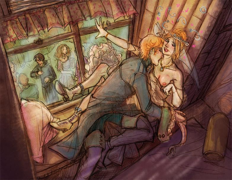 granger bound and hermione gagged Haiyore! nyaruko-sa