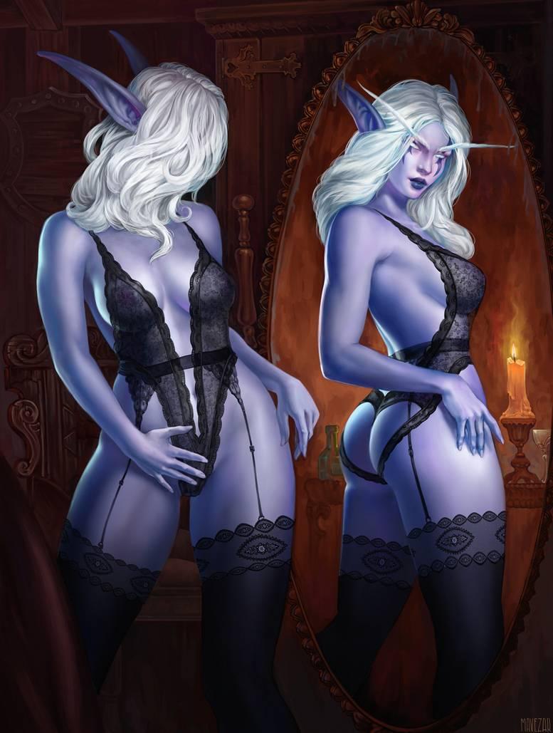 ears warcraft world of elf Fox mccloud x wolf o donnell