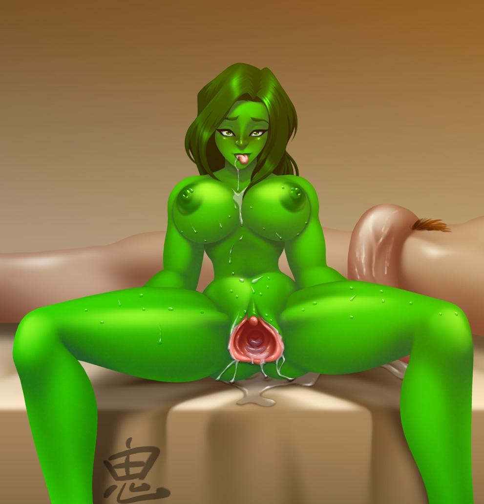 she moon hulk full transformation Grimoire of zero season 2