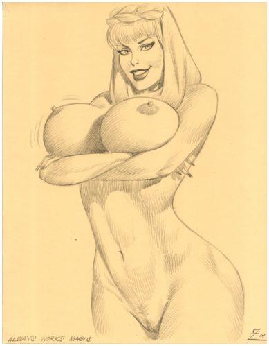 comic of boobies i dream Rick and morty nipple wars