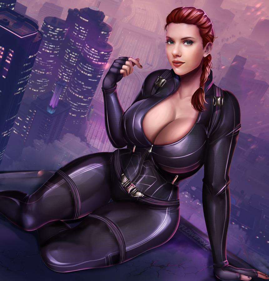 naked the black avengers widow Ben ten and gwen porn