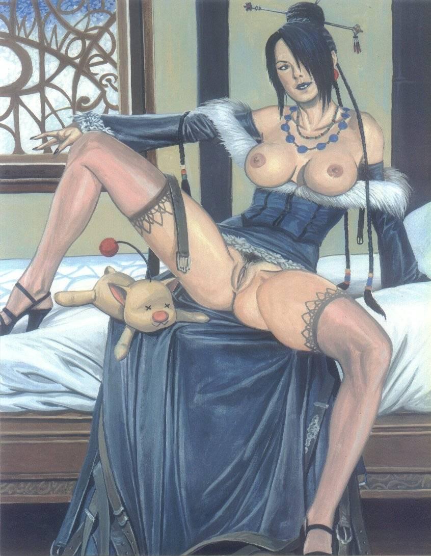 final fantasy lady yunalesca 10 Akame ga kill akame fanart