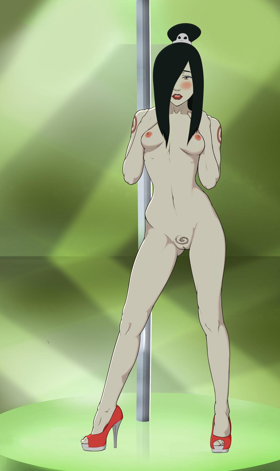 naked airbender avatar last the Red dragon inn