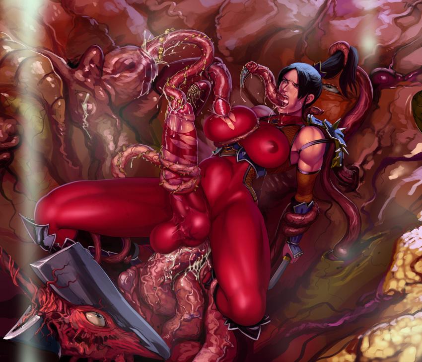 all tentacles the way through Fox-spirit-matchmaker