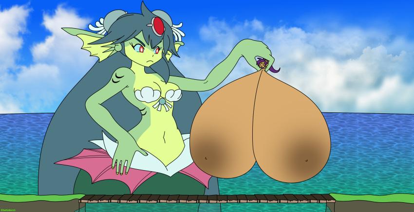 genie half nude shantae hero Nachos star vs the forces of evil