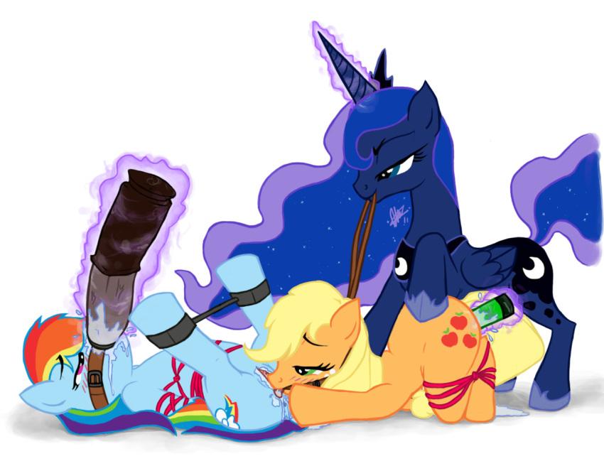 is little magic base pony my friendship Majikoi oh samurai girl uncensored