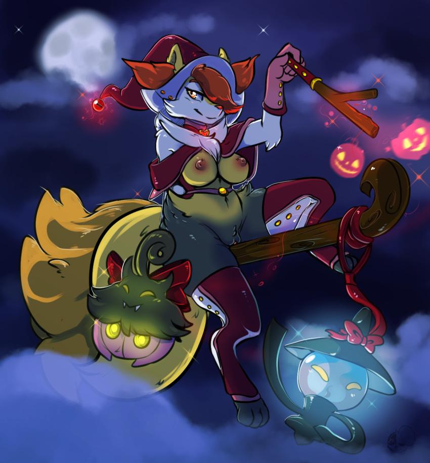fire orange with pokemon tail My hero academia toga and deku