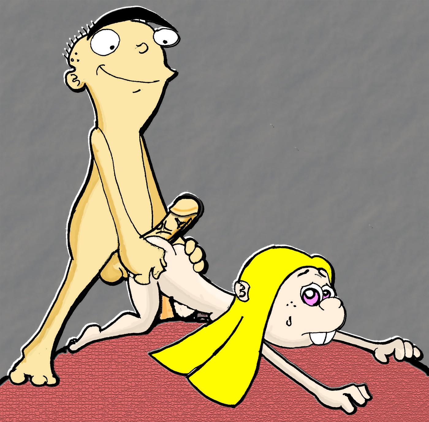 porn ed eddy sugar and edd rebecca Rick and morty breast expansion