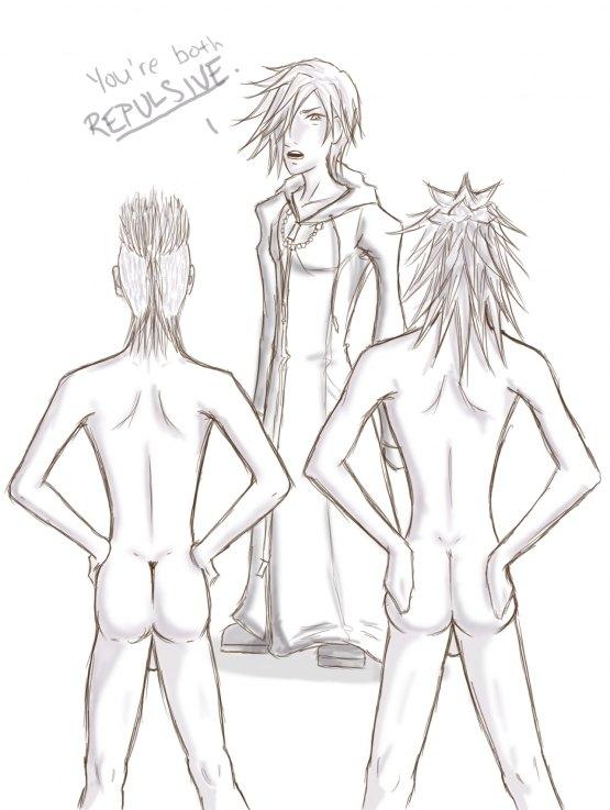 kingdom hearts 3 Xenoblade chronicles 2 kora hentai