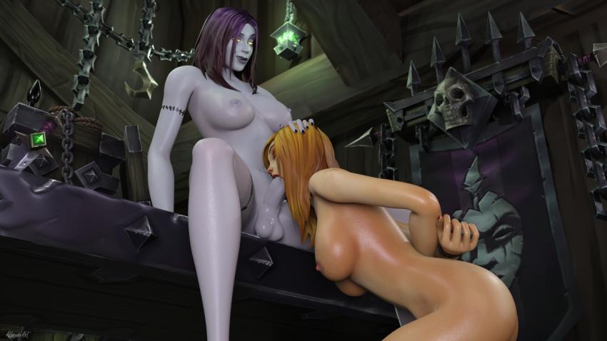 worgen world female of warcraft Kore wa zombie desuka?